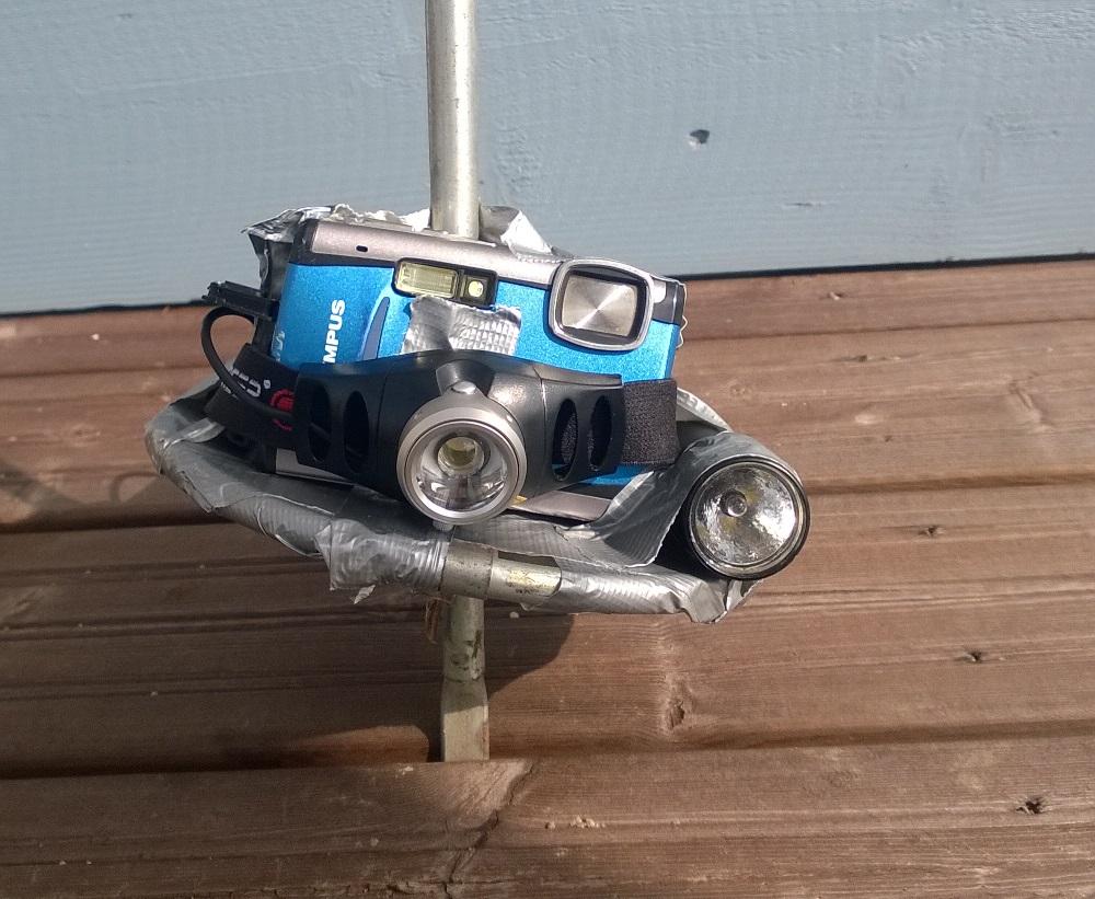 DIY-viemärikamera